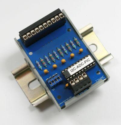 I2C-ADC 5 CH 10 Bit