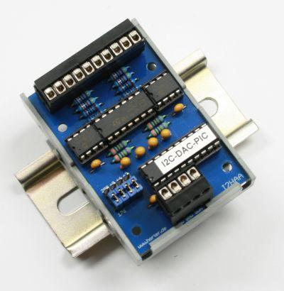 I2C-DAC 4 CH 10 Bit