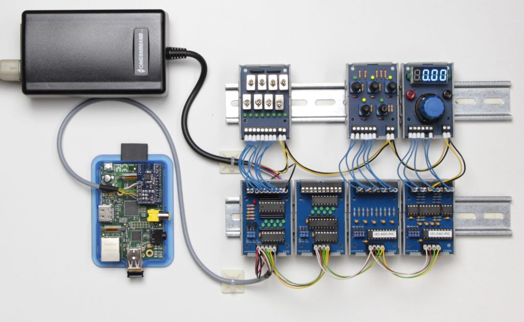 Raspberry-PI mit I2C-Baugruppen