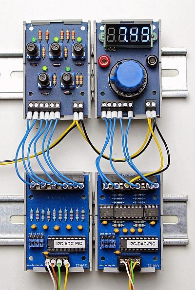 Arduino i c analog out karte horter kalb