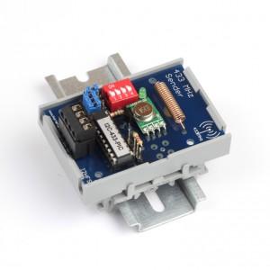 I2C-Funksender für Hutschiene