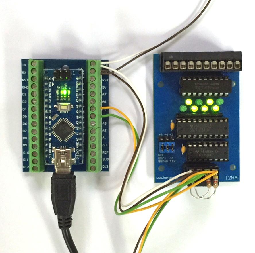 Bascom i c mit dem arduino nano horter kalb