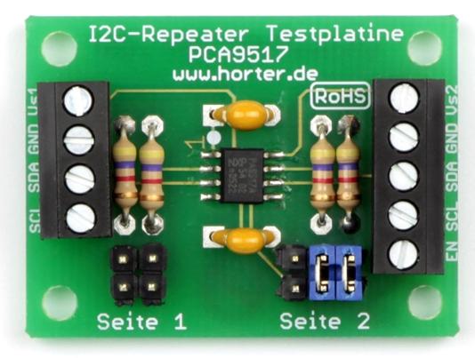 Universeller I2C-Repeater / Pegelanpassung 3,3V 5V für zwei Kanäle
