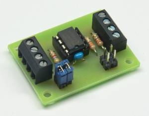 I2C Extender Testplatine mit P82B715 / I2C Extender testboard with