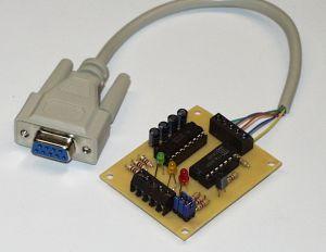 I2C PC Koppler für die RS232 Schnittstelle